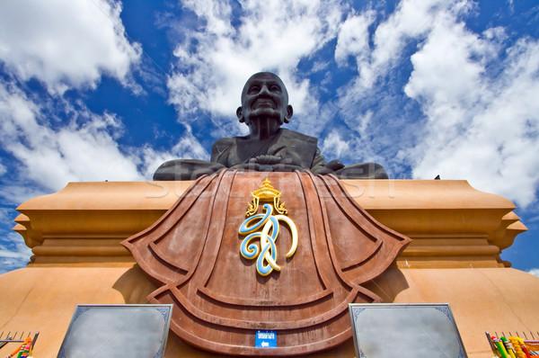 жаба Будду статуя монах изображение храма Сток-фото © vichie81