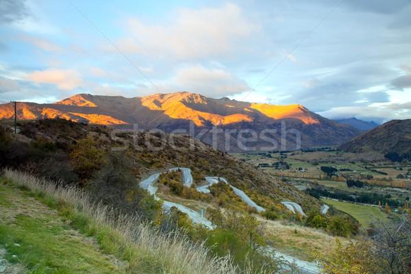 New Zealand Highway Stock photo © vichie81
