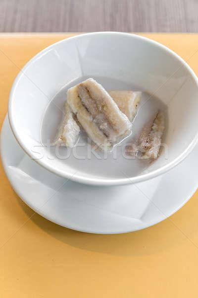 банан кокосовое молоко тайский тропические фрукты десерта продовольствие Сток-фото © vichie81