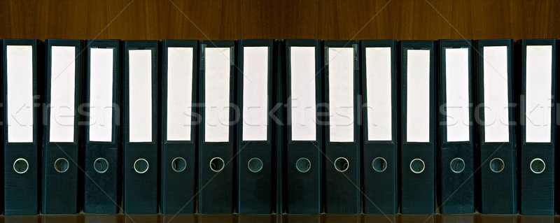 document Folders Stock photo © vichie81