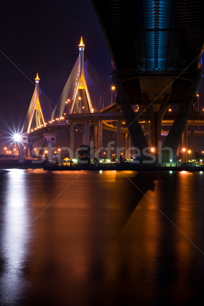 Bangkok Mega Bridge Stock photo © vichie81