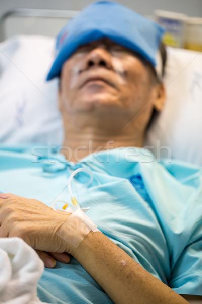Patient sleeping Stock photo © vichie81