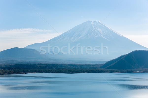 Mountain Fuji Japan Stock photo © vichie81