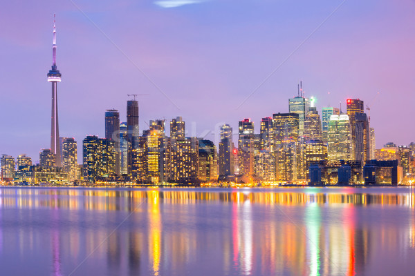 Toronto Skyline Stock photo © vichie81