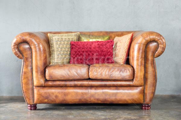 Stock photo: Classic Sofa
