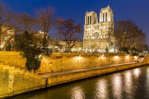 Paris Notre Dame Stock photo © vichie81