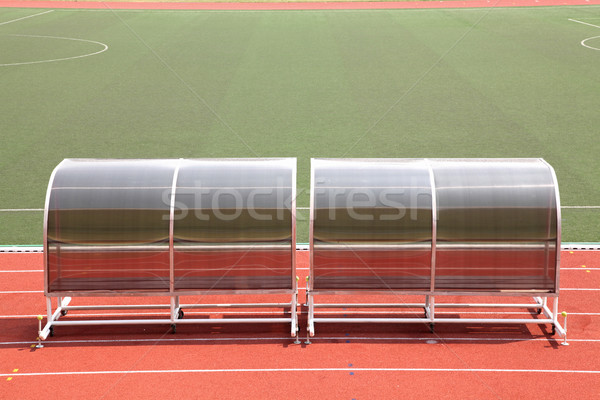 reserve benches football field Stock photo © vichie81