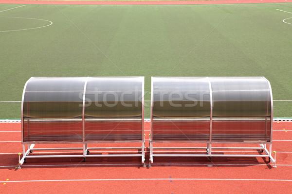リザーブ フットボールの競技場 監督 サッカー サッカー スタジアム ストックフォト © vichie81