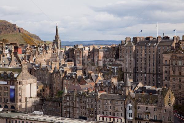 Edinburgh Skylines building Stock photo © vichie81