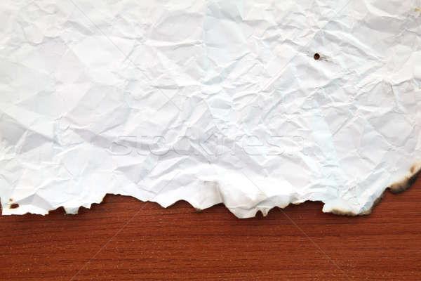 burnt edges Paper Stock photo © vichie81