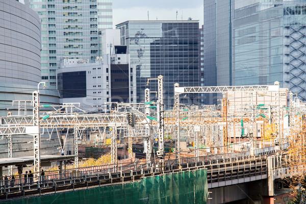 railway in tokyo Stock photo © vichie81