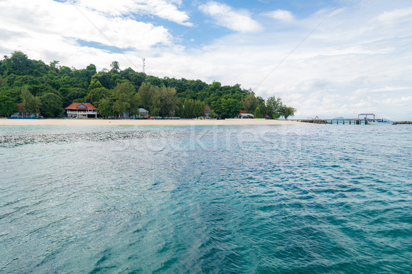şnorkel nokta phuket güzel ada plaj Stok fotoğraf © vichie81