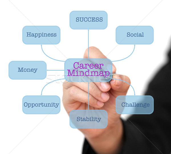 Career Mindmap Stock photo © vichie81