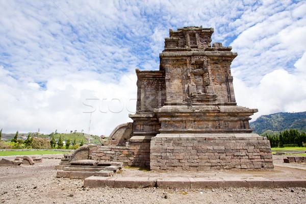 Complejo meseta templo parque central java Foto stock © vichie81
