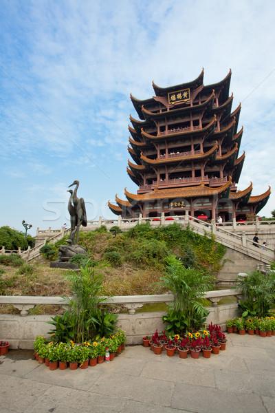 Yellow Crane Tower temple Wuhan Hubei China Stock photo © vichie81