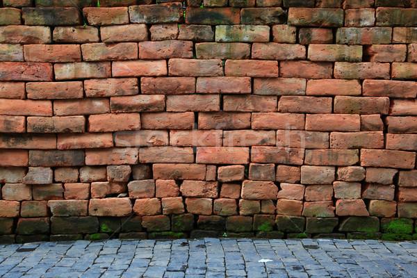 Weathered Brick Room Stock photo © vichie81