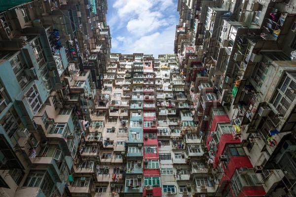 Hong Kong Residential flat Stock photo © vichie81