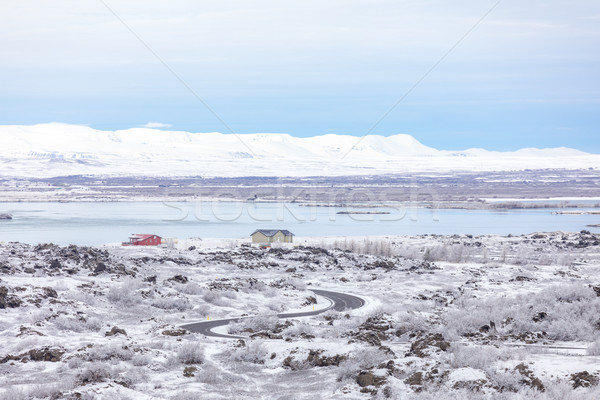 Winter landscape Iceland Stock photo © vichie81