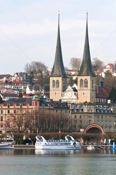 Lucern Church Stock photo © vichie81