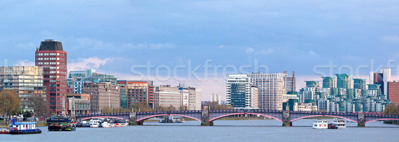 Panorama of London Skylines Stock photo © vichie81