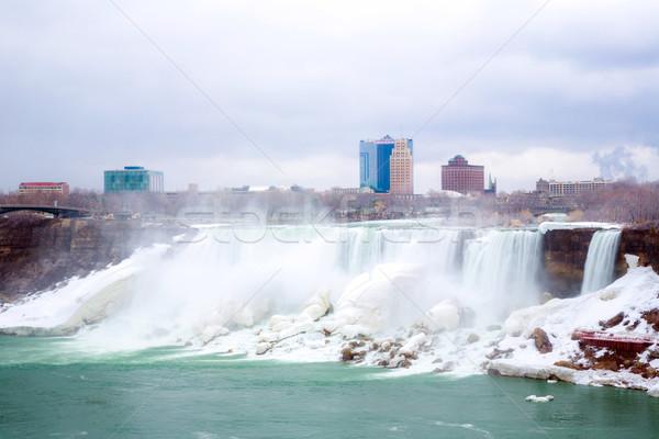 Amerikaanse tabel rock koningin park Niagara Falls Stockfoto © vichie81