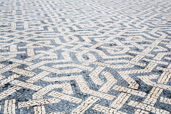 Tile brick floor Stock photo © vichie81