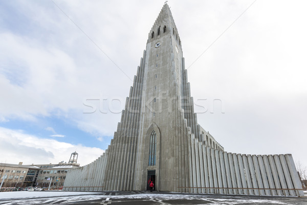 Islande cathédrale reykjavik bâtiment église religion Photo stock © vichie81