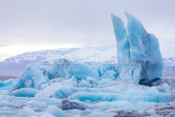 Stock photo: Jokulsarlon lagoon Iceland