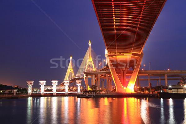 Industrial Bridge  Stock photo © vichie81