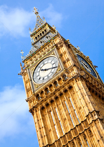 Big Ben Clock Tower Stock photo © vichie81