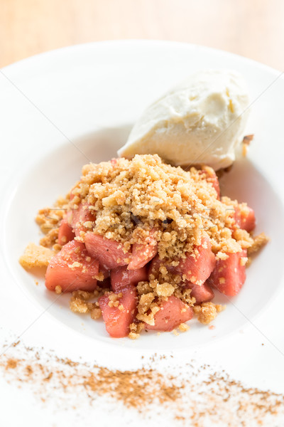 apple crumble Stock photo © vichie81
