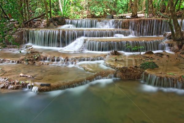 Tropical waterfall Stock photo © vichie81
