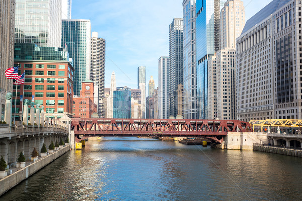 Chicago River Stock photo © vichie81