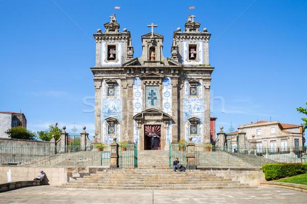 Saint Ildefonso Church Porto Stock photo © vichie81