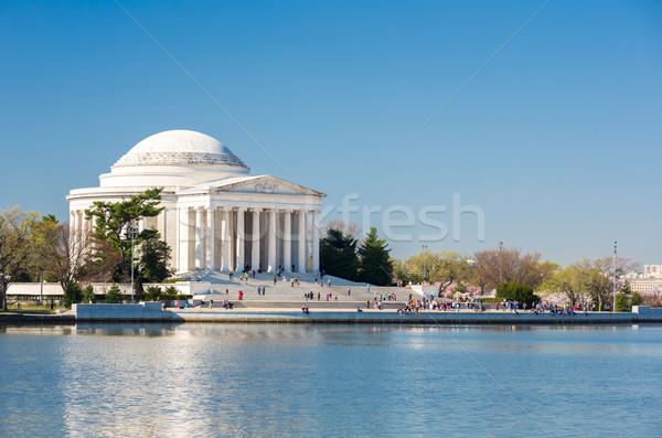 Thomas Jefferson Memorial building Washington Stock photo © vichie81