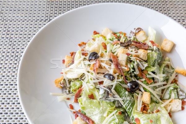 Caesar salad Stock photo © vichie81