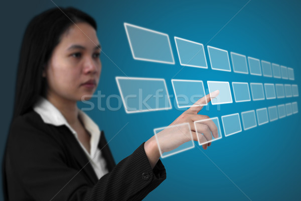 touchscreen interface Stock photo © vichie81