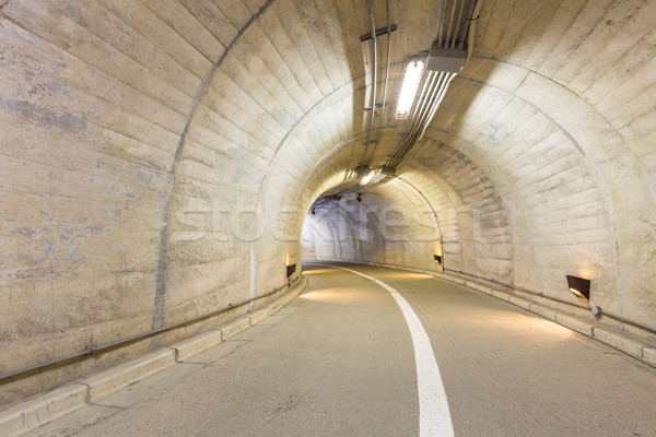 туннель интерьер городского дороги улице фон Сток-фото © vichie81