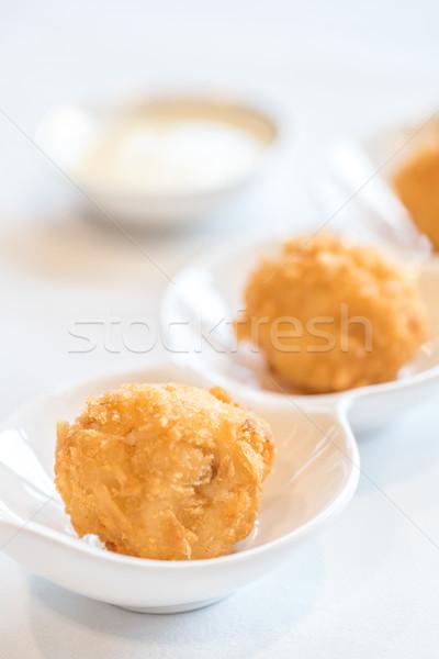 Fried Shrimp ball Stock photo © vichie81