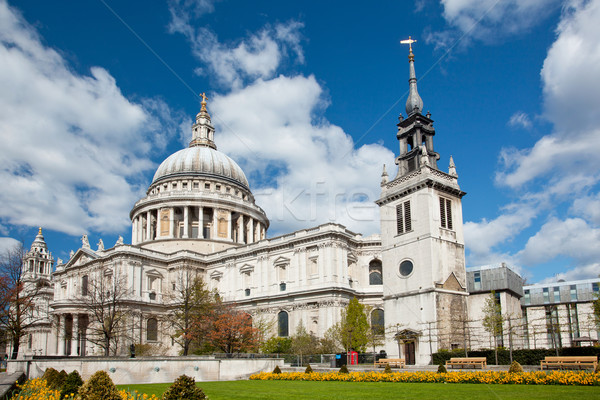 St. Paul Cathedral London Stock photo © vichie81