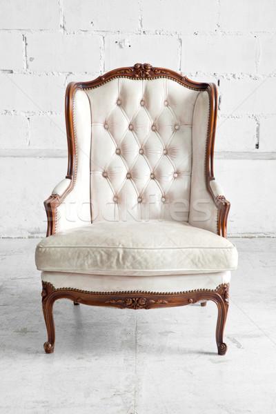White Sofa Stock photo © vichie81