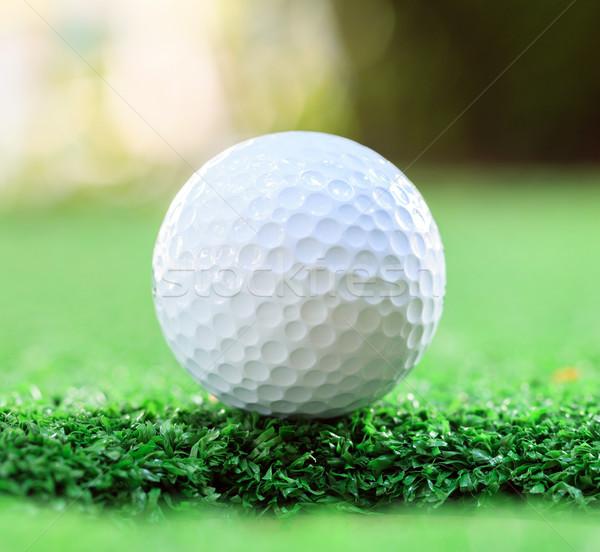 golf ball Stock photo © vichie81