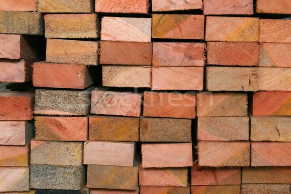 Wood Log Background Stock photo © vichie81