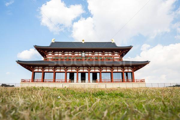 Heijo Palace in Nara, Japan Stock photo © vichie81