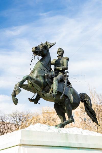 Jackson Statue Stock photo © vichie81