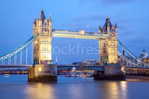 Tower Bridge England Stock photo © vichie81