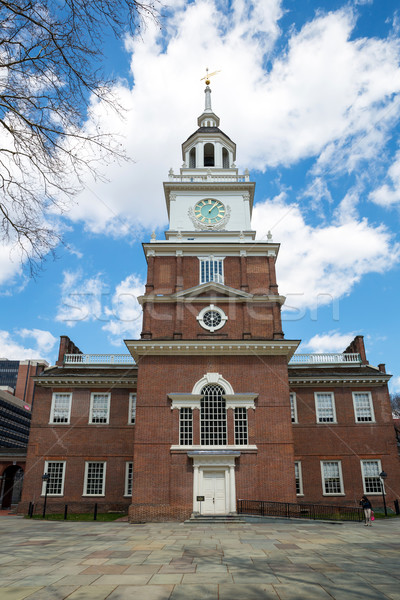 Independence Hall in Philadelphia USA Stock photo © vichie81