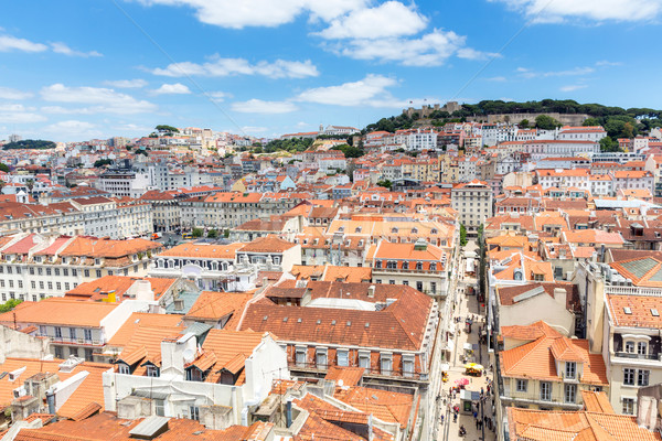 Lisbon cityscape Portugal Stock photo © vichie81