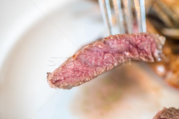 beef steak Stock photo © vichie81