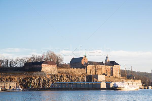 オスロ ノルウェー 水 建物 ストックフォト © vichie81